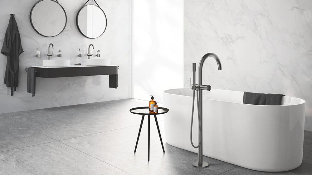 Rubinetterie pavimenti rivestimenti accessori per il bagno
